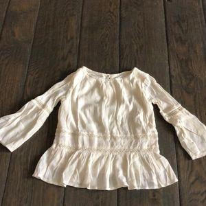 Gap kids girls boho blouse size M — LIKE NEW